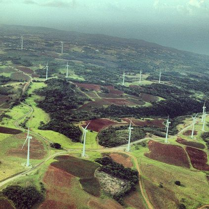 Wigton Wind Farm in Manchester, Jamaica